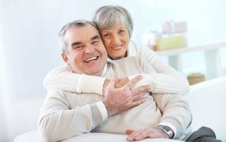 Älteres Paar-Haus verkaufen