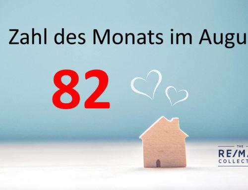 Zahl des Monats im August