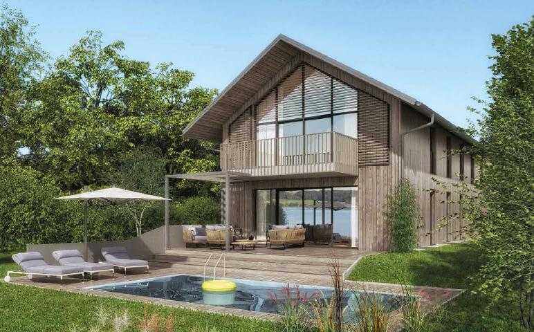Holzhaus am Mattsee - Auslandsimmobilie